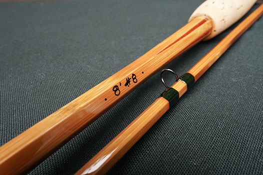 8 weight cane rod